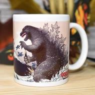 哥吉拉 馬克杯 附彩盒 日本販售正版品 GODZILLA 浮世繪風