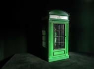 【老時光 OLD-TIME】早期海尼根電話亭造型酒吧電話