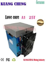 ใช้เก่า ASIC Miner BTC BCH Miner Love Core A1 Miner 25T 10nm SHA256 ASIC กับ PSU ทางเศรษฐกิจมากกว่า m3 T3 T2T E9i Antminer S9 T17