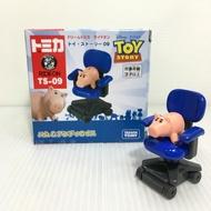 【Fun心玩】DS87501 麗嬰 日本 夢幻 TOMICA 多美小汽車 Dream TS-09 火腿豬&安迪椅子 模型