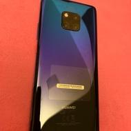 華為手機 mate 20 pro 二手手機 極光色 128g
