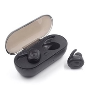 Mini Portable TWS Wireless bluetooth Earbuds Stereo Bilateral Calls Earphone with Charging Box