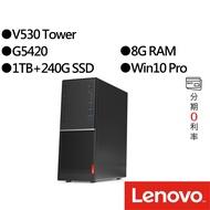 Lenovo聯想 V530 Tower 11BHS00H00 G5420 雙碟 商用桌上型電腦