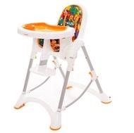台灣製 myheart 折疊式兒童安全餐椅(卡通橘)【紫貝殼】