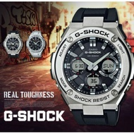GST-S110-1A CASIO ORIGINAL G SHOCK GSTEEL MEN'S SPORT ANADIGITAL (2YRS WARRANTY)
