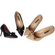 !!ลดราคาพร้อม่สง!! รองเท้าส้นสูง รองเท้าแฟชั่น รองเท้าคัชชู ส้นเข็ม มาพร้อมส้นสูง 7 Cm. Fashion Lady Shoe #7005