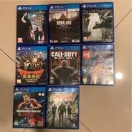二手 PS4 遊戲片