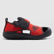 ADIDAS 涼鞋 AltaVenture Mickey 運動涼鞋 護趾涼鞋 童鞋 中童鞋 黏帶 迪士尼 米奇 紅黑【F35863】