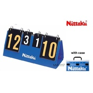 現貨 NITTAKU 三用計分板 記分牌 桌球 羽球 排球 網球 可折疊  計分器 翻分牌 計分板