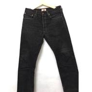 轉賣Levi's 501 經典排扣合身藍道色牛仔褲 赤耳