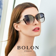【BOLON 暴龍】漸進色蝶形大矩方框太陽眼鏡 明星代言款 BL5018