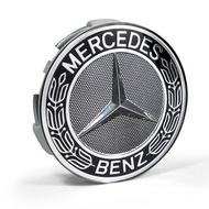 【MKB】Benz 賓士 原廠輪圈 稀有黑色圖騰版 中心蓋 鋁圈蓋
