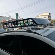 ㊣Josh汽車配件㊣新款鐵板導流板行李框.置物籃 轎車休旅車通用型車頂帳棚,通用車頂框行李架 車頂架 置物籃子配手轉螺絲