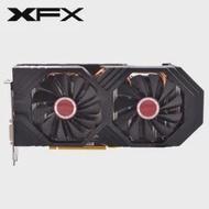 XFX การ์ดจอรุ่น RX 580 8GB กราฟิกการ์ด AMD Radeon RX580 8GB 2304SP วิดีโอการ์ด GPU คอมพิวเตอร์เดสก์ท็อปเกมแผนที่กราฟิกค...