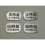 賓士 W202 W140 W210 W208 R129 SRS LOGO 安全氣囊蓋 AIRBAG 車內飾蓋 鍍鉻 改裝