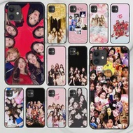 Kpop สองครั้งโทรศัพท์คิงส์ตันอะพอนฮัลล์สำหรับ Iphone 5 5S Se 2020 6 6S 7 8 12 Mini plus X XS XR 11 PRO MAX สีดำ Etui 3D โทรศัพท์มือถือหร...