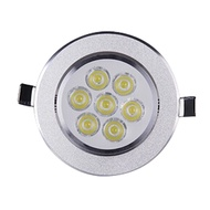 GTU Downlight 3W/5W/7W LED Recessed Ceiling Downlight Spotlight Wall Background Decor Light
