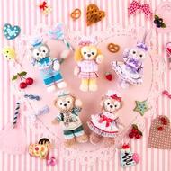 大賀屋 日貨 達菲熊 史黛拉兔 畫家貓 雪莉玫 情人節 圍裙 吊飾 娃娃 海洋迪士尼 Duffy J00020043