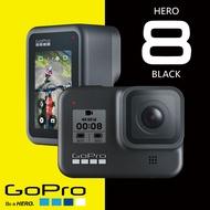 熱銷款 買就送鋼保貼+矽膠保護套 GoPro HERO8 Black 2019全新 運動攝影機●4K●防水●慢動作●移動延時【3C小籠包】