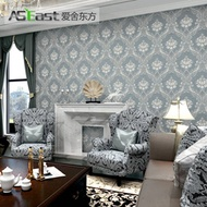 Love house Oriental extravagant European nonwoven wallpaper living room bedroom TV background wall w