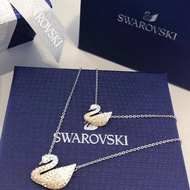 【SALE】พร้อมส่งSwarovskiแท้ สร้อย swarovski ของแท้ ของแท้ 100% สร้อยคอจี้หงส์ ของขวัญวาเลนไทน์ swaroski swarovki