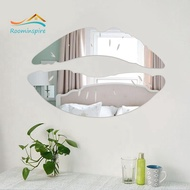 Mirror Wall Stickers Lips Mirror Wall Stickers DIY Wall Stickers Wall Decoration Wall Stickers Mirror Stickers
