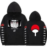 Naruto Hoodies Anime Streetwear Couple Loose Uchiha Itachi Hoodie Sweatshirt Hoodie
