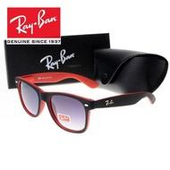 【NuoLi】RayBan Original Sunglasses Wayfarer 2140 Red Purple Eyeglass