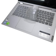 【Ezstick】Lenovo IdeaPad C340 14 IWL 奈米銀抗菌TPU 鍵盤保護膜(鍵盤膜)