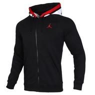 NIKE as m j air Jordan flc fz 黑色 男款 連帽外套 BQ5650-010
