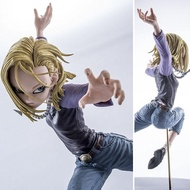 Model โมเดล Figure ฟิกเกอร์ Dragon Ball Z Android 18 หมายเลข 18 Lazuli ลาซูลิ Ver Anime อนิเมะ การ์ตูน มังงะ คอลเลกชัน Doll ตุ๊กตา manga