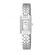 Karnvera Shop Citizen Stainless Steel นาฬิกาข้อมือผู้หญิง silver Women watch EZ6351-51A