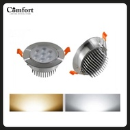7W LED Downlight LED Recessed Down Light Ceiling Room Round Downlight