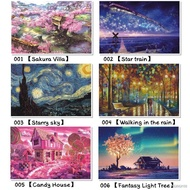 ☇[Ready stock]puzzle 1000 pcs puzzles jigsaw puzzle adult decompression creative gift super difficult small educational