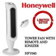 Honeywell HFY045 Digital Tower Fan with Height Adjustment [Multiple Breeze Mode Settings]