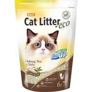 【金王子寵物倉儲】CARL卡爾/環保豆腐貓砂6L/烏龍茶