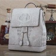 Ourui True จระเข้กระเป๋าเป้สะพายหลังผู้หญิงใหม่กระเป๋าเป้สะพายหลังกระเป๋าเดินทาง