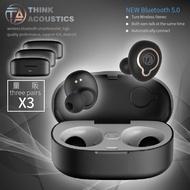 3入組合>>>【T.A-OneS】高級藍芽5.0運動無線耳機 一鍵式操作 輕量 防水 入耳式 藍芽耳機 原廠保固 現貨