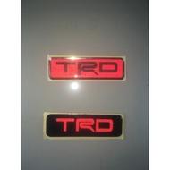 Trd Sticker Emblem / Trd Sticker (reflective)