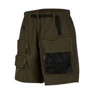 Nike 短褲 ACG Cargo Shorts 綠 黑 男款 工裝風格 運動休閒【ACS】 CK7856-326