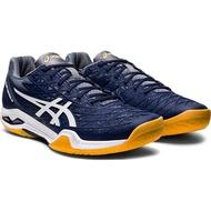 ASICS 男羽球鞋 COURT CONTROL FF系列 高階 深藍 1071A021-401 贈運動襪 20SS