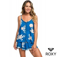 【ROXY】FLORAL SLOW(上衣 藍)