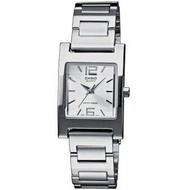 นาฬิกา รุ่น Casio นาฬิกาข้อมือผู้หญิง สายสแตนเลส สีเงิน รุ่น LTP-1283D-7A ( Silver ) จากร้าน MIN WATCH