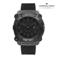 【HAMILTON 漢米爾頓】航海深潛巨獸 BeLOWZERO腕錶 H78585333(男性 橡膠錶帶 H78585333)