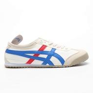 Asics_mexico 66 SLIP-ON onitsuka_tiger_mens และรองเท้าวิ่งผู้หญิง asics_sports Shoes รองเท้าผ้าใบรองเท้าของแท้