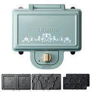Bruno BRUNO Hot Sand Maker Moomin Electric Mini Tart Plate Set Double Blue Green BOE051-BGR 1700577