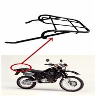 สีดำด้านหลังFender Rackกระเป๋าเดินทางรองรับชั้นวางสำหรับYamaha DT125R DT200R DT 125R 200Rรถจักรยานยนต์กระเป๋าเดินทา...