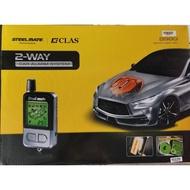 Steelmate 898G 2way autostart car alarm full set