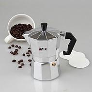 ของแท้ หม้อต้มกาแฟ มอคค่าพอท (MOKA POT) อลูมิเนียม 3 ถ้วย iMIXHagan 24 Shop0632 เครื่องชงกาแฟ เครื่องชงกาแฟสด เครื่องชงชา เครื่องชงชากาแฟ เครื่องทำกาแฟ