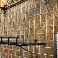 [瑞欣]網架配件 平籃 斜籃 三尺 二尺 黑色 白色 展示道具 網架 平掛籃 斜掛籃 台灣製造